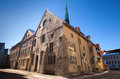 Street view on old town of tallinn estonia Royalty Free Stock Photo
