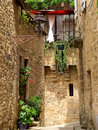 Street view of Sarlat Royalty Free Stock Photo