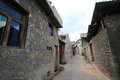 Street view in Tianlong Tunbao town China Royalty Free Stock Photo