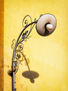 Streetlamp beautiful historic and shadow Royalty Free Stock Photography