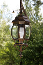 Streetlight subject photo of a semi antique beautiful Stock Photo