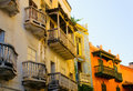 Streets of Cartagena, Colombia Royalty Free Stock Photos
