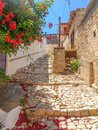 Streets of Cyprus old village Royalty Free Stock Photo