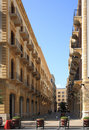 The streets of downtown Beirut (Lebanon) Stock Images