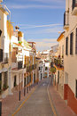 Streets of Estepona Stock Images