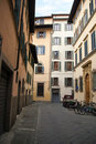 The streets of Florence Stock Photography