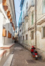 Streets in heart of Stone Town city Royalty Free Stock Photo