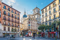 In the streets of Madrid Royalty Free Stock Photo