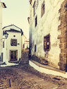 Streets of marvao alentejo portugal Royalty Free Stock Images