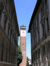Streets of Pavia Stock Image