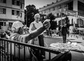 Streets And People Of Yalova City Royalty Free Stock Photo