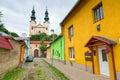 Streets of Podolínec town