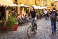 In the streets of Roma Italia Royalty Free Stock Photo