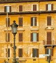 Streets of Rome, Italy Royalty Free Stock Photo
