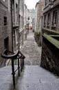 Streets of saint malo, france Stock Images