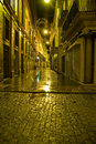 Streets of Sevilla by night Stock Image