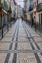 Streets and walkways of Ponta Delgada.