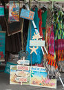 A streetside shop selling different things ontario canada Royalty Free Stock Photos