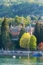 Stresa lake maggiore italy Royalty Free Stock Photo