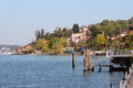 Stresa wharf Royalty Free Stock Photo