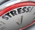 Stress Clock Time Deadline Countdown Alarm Reminder