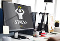 Stress Failure Depression Pressure Panic Concept Royalty Free Stock Photo