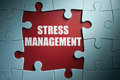 Stress management Royalty Free Stock Photo