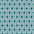 Strict style rhombic background seamless with diamond pattern Royalty Free Stock Image