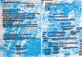 Strikethrough background abstract grunge with crazy scribbles Stock Photos