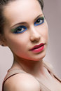 Striking beauty portrait. Royalty Free Stock Photos