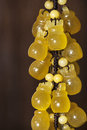A string of chinese jade ornamental hangings this is hanging frop made by kind jade,the raw material originated from yunnan Stock Image
