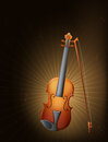 A string instrument illustration of Stock Photography