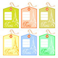 String tag for Paris Stock Images