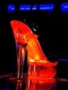 Strip-tease shoes Royalty Free Stock Photo