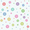 Stripe circles texture Stock Photography