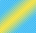 Stripe dot pattern Stock Photo