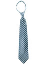 Stripe necktie isolate on white background Stock Photo