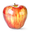 Striped apple Royalty Free Stock Images
