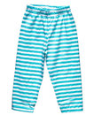 Striped blue summer pants for boys Royalty Free Stock Photo