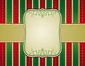 Striped christmas background,  Royalty Free Stock Images