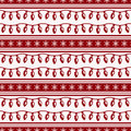 Striped christmas pattern with garlands. Vector seamless backgro