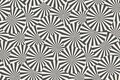 Striped circles. Abstract geometric seamless pattern. Vector