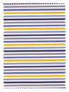 Striped Fabric Swatch Royalty Free Stock Image