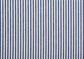 Striped fabric texture white and blue with copy space Royalty Free Stock Photography