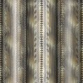 Striped greek key seamless borders pattern. Patterned lace lines Royalty Free Stock Photo