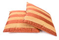 Striped pillows Royalty Free Stock Photo