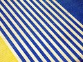 Striped plastic surface Stock Photography