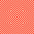 Striped red white seamless pattern abstract repeat angular lines texture background vector illustration Royalty Free Stock Images
