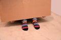 Striped socks Royalty Free Stock Photo