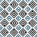 Striped squares seamless backgound pattern Royalty Free Stock Photo